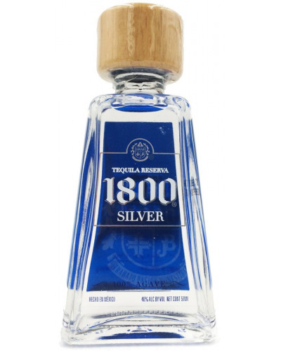 1800 Tequila Silver Miniatures 10pk - 50ml -