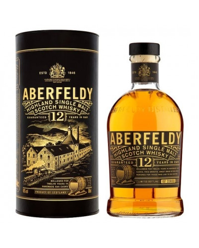 Aberfeldy Scotch Single Malt 12 Year 750ML -