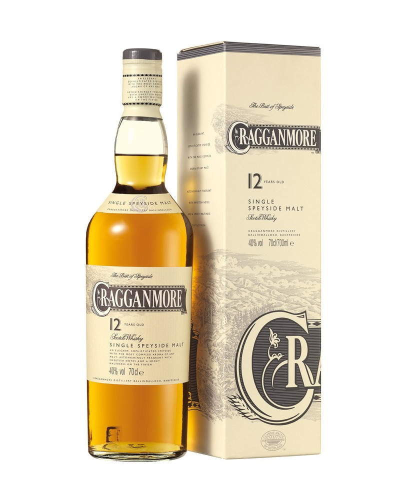 Cragganmore 12yr Single Malt 750ml -