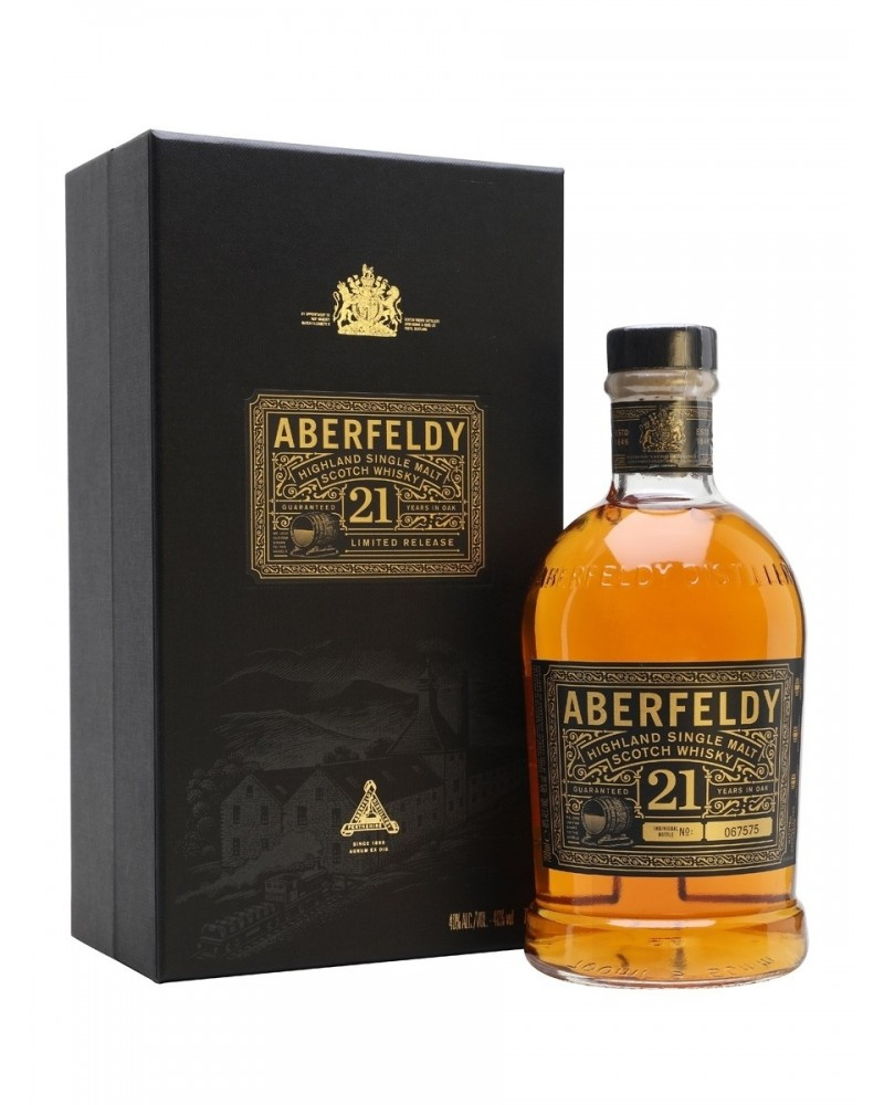 Aberfeldy Scotch Single Malt 21 Year 750ML -
