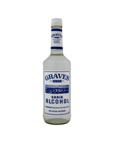 Graves Grain Alcohol 190 Proof 1LT -