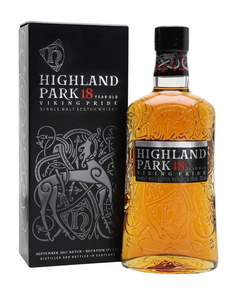 Highland Park Scotch Single Malt 18 Year 750ml -