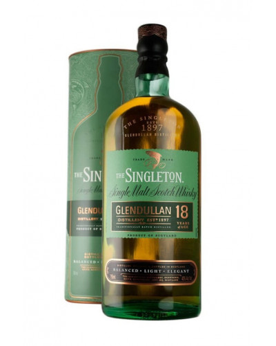 The Singleton Of Glendullan Scotch Single Malt 18 Year 750ML -