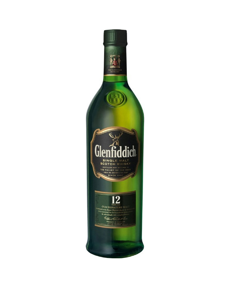 Glenfiddich Scotch Single Malt 12 Year Old 1.75lt -