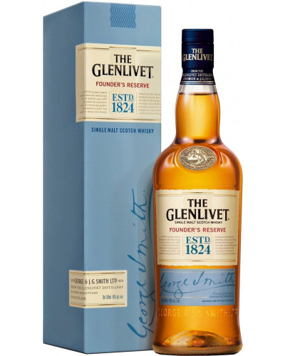 The Glenlivet Scotch Single Malt Founder's Reserve 1Lt -