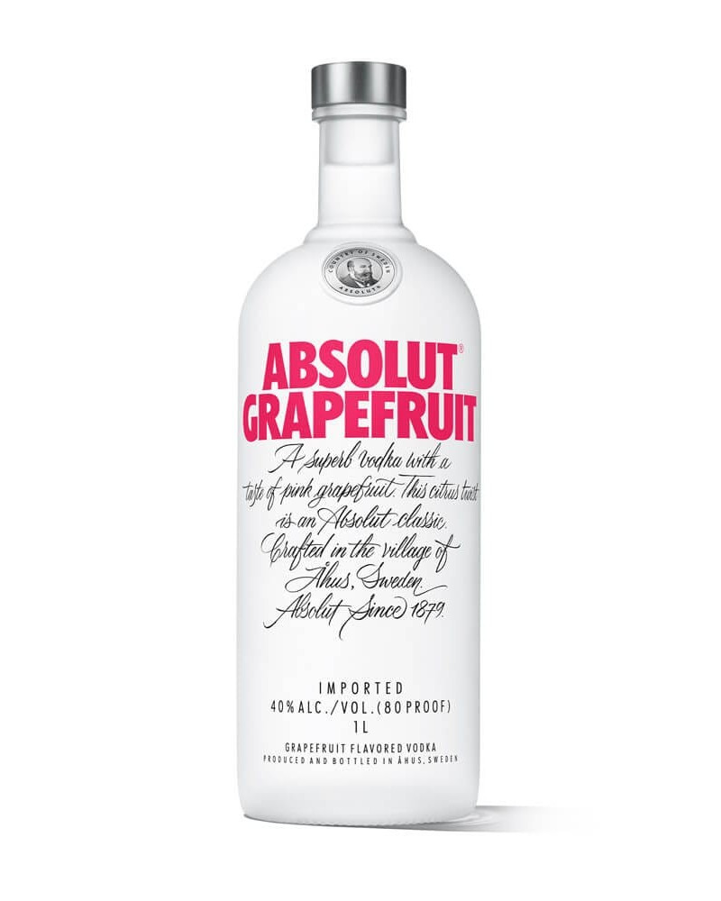 Absolut Vodka Grapefruit 1Lt -