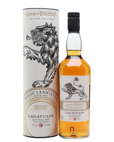 Lagavulin 9 Year Old Game Of Thrones House Lannister 750ml -