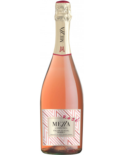 Mezza di Mezzacorona Italian Glacial Bubbly Rose 750ml -