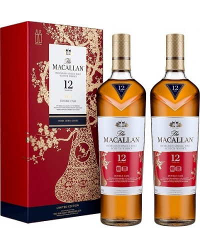 Macallan 12yr Double Cask Lunar the year of the pig 750ml -