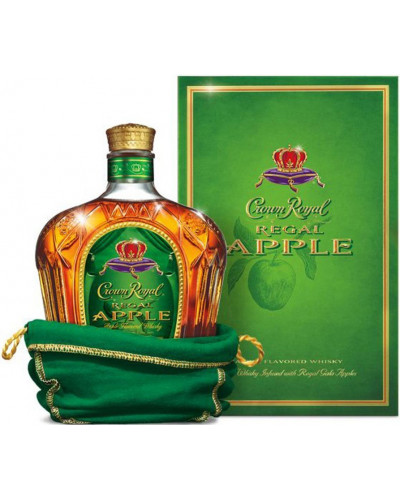 Crown Royal Canadian Whisky Regal Apple 750ml -