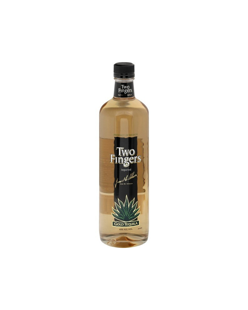 Two Fingers Tequila Gold 750ml -
