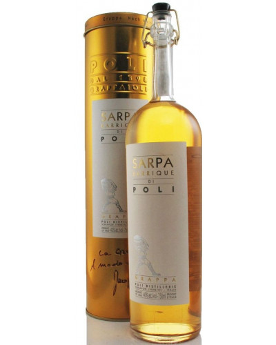 Jacopo Poli Grappa Sarpa Barrique 750ml -