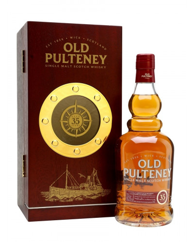 Old Pulteney Scotch Single Malt 35 Year 750ml -
