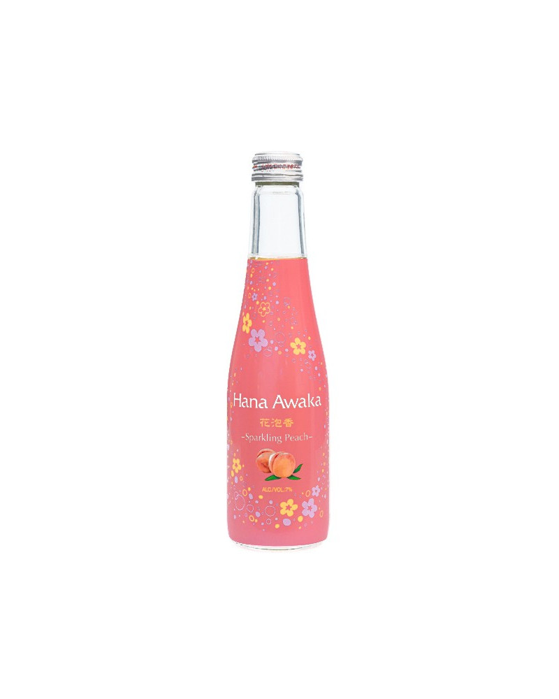 Ozeki Sparkling Hana Awaka Peach 250ml -