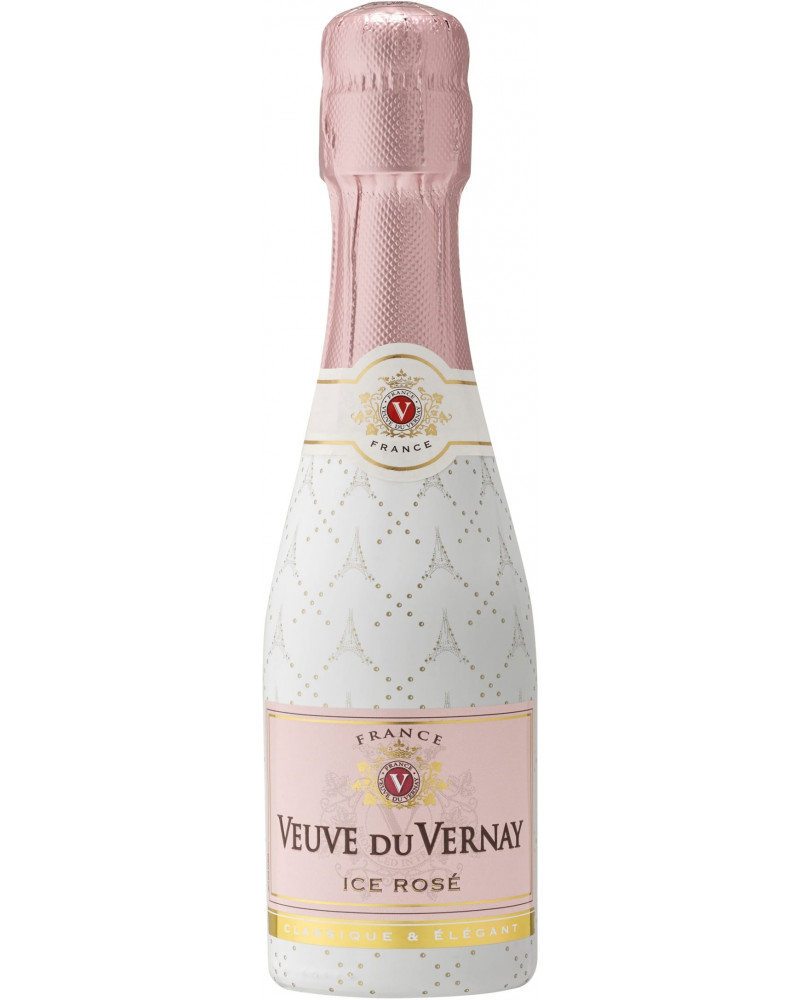 Veuve du Vernay Ice Rose Mini bottles 12Pk 187ml -