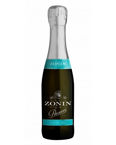 Zonin Prosecco Cuvee 1821 Mini bottles 12pks (187ml) -