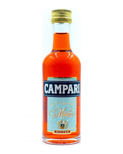 Campari Aperitivo 25 Mini bottles 50ml -