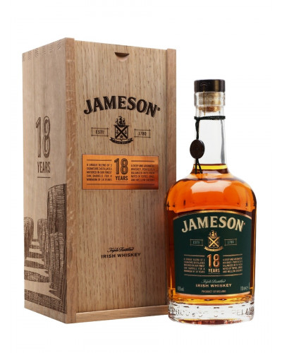 Jameson Irish Whiskey 18 Year Old Limited Reserve 750ML -
