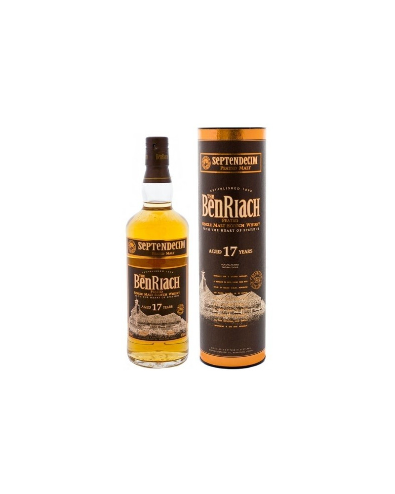 Benriach Scotch Single Peated Malt 17 Year Septendecim 750ml -