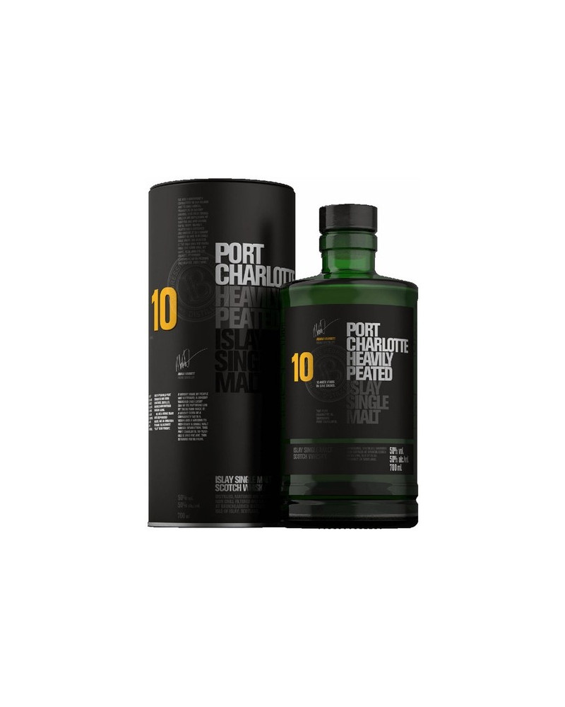 Port Charlotte 10 Year Old Heavily Peated 750ml -