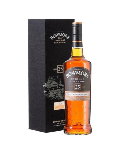 Bowmore Scotch Single Malt 25 Year Small Batch Release 750ml -