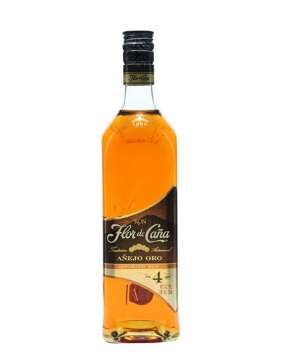 Flor de Cana Anejo Oro 4 Year Old 1Liter -
