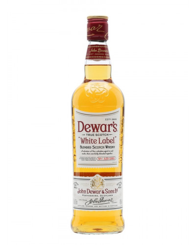Dewar's Scotch White Label 750ml -