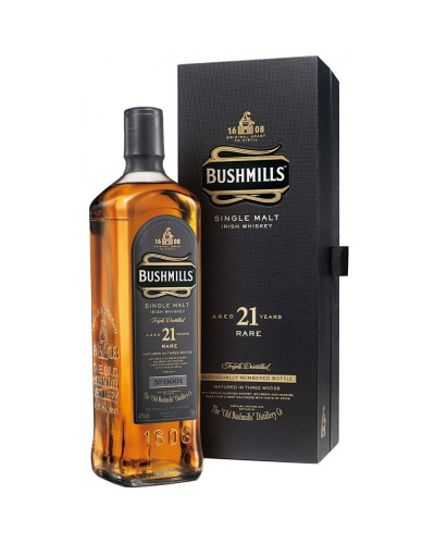 Bushmills Irish Whiskey 21 Year 750ml -
