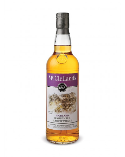 Mcclelland's Scotch Single Malt Highland 750ml -