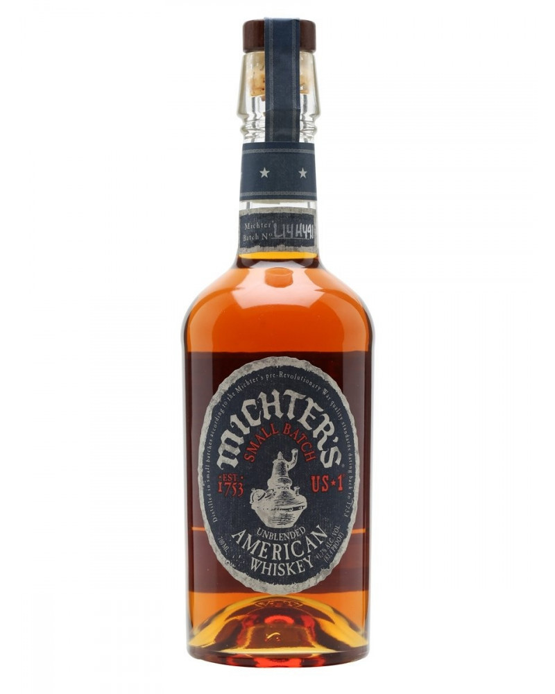 Michter's Whiskey Unblended Small Batch American 750ML -