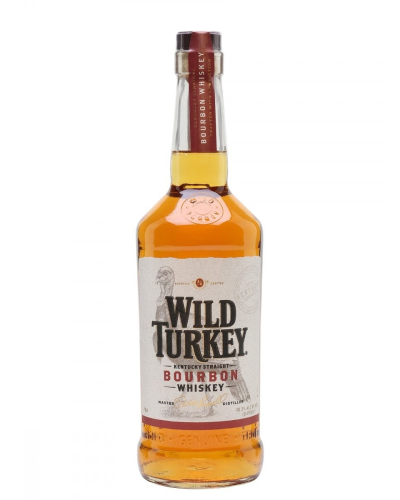 Wild Turkey Bourbon 81 Proof 1Liter -