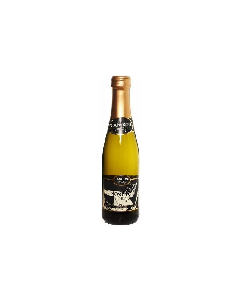 Candoni Moscato Sweet Semi Sparkling Mini Bottles 12pks (187ml) -